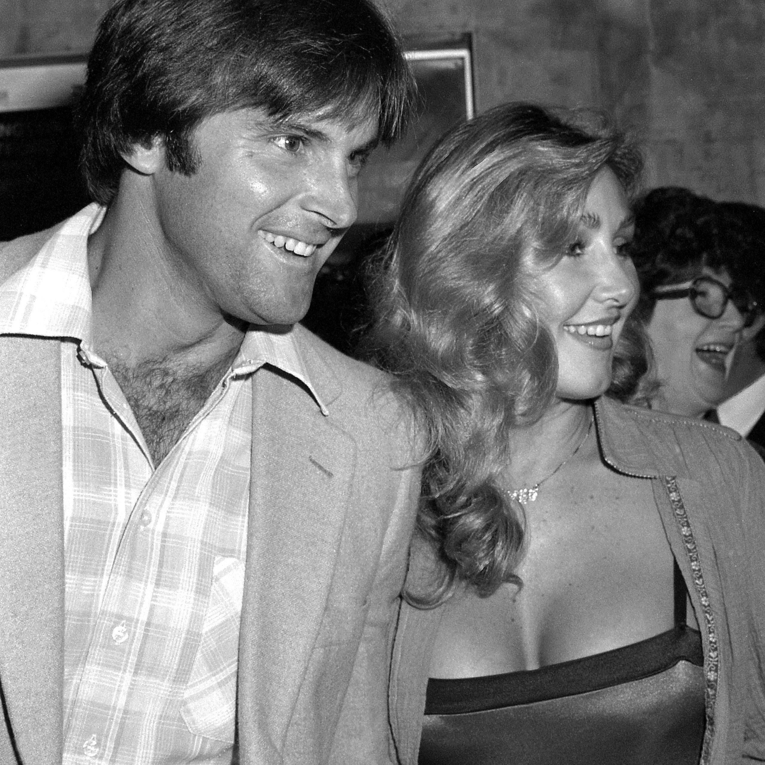 Bruce Jenner with wife Linda Thompson