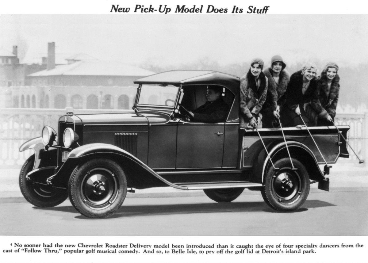 Chevy Trucks History: 1918 - 1959