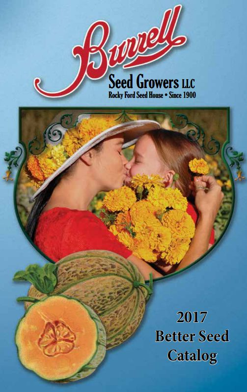 The Burrell Seed Growers catalog for 2017