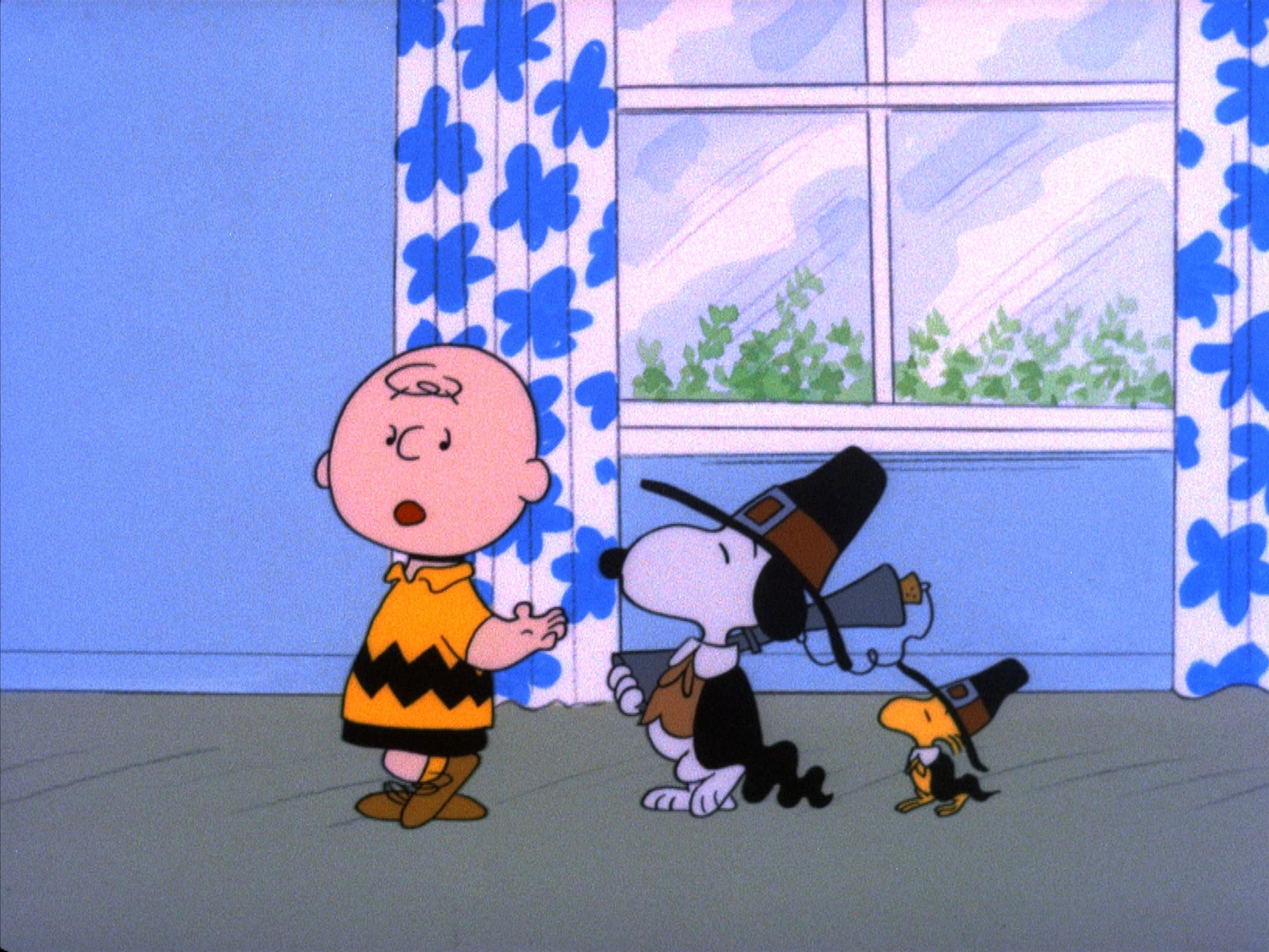 Charlie Brown's Pilgrims