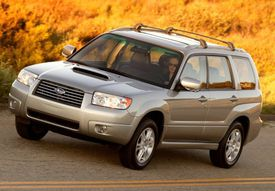 2006 Subaru Forester XT front view