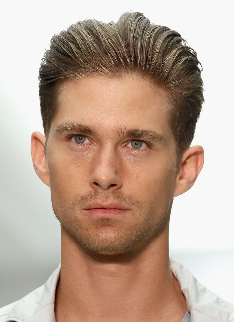 Men S Brushed Back Hairstyles Picture Gallery