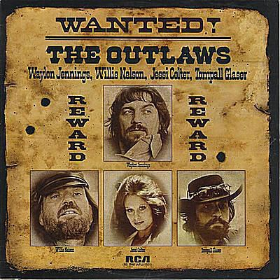 album cover wanted the outlaws