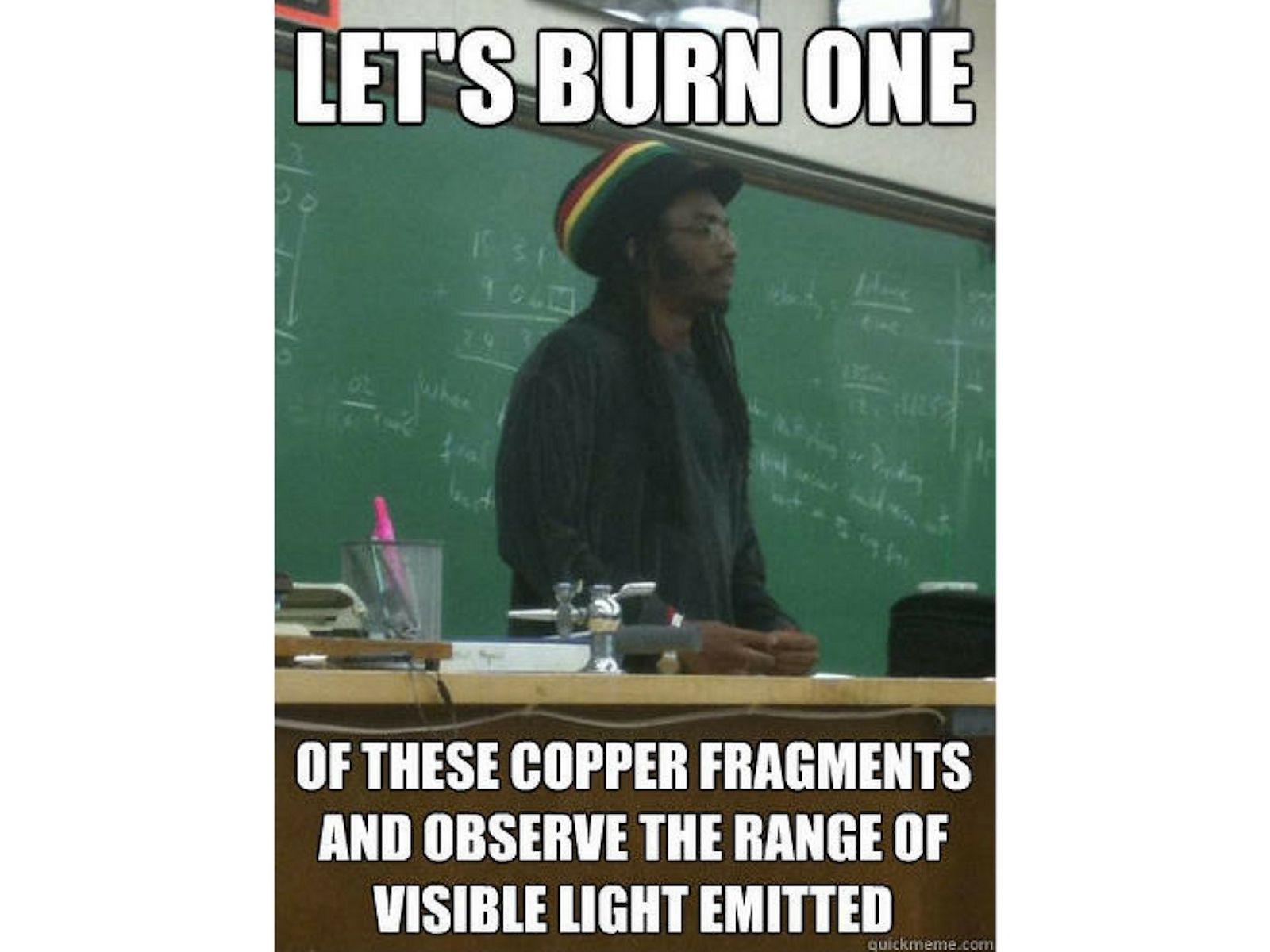 Rasta science teacher meme