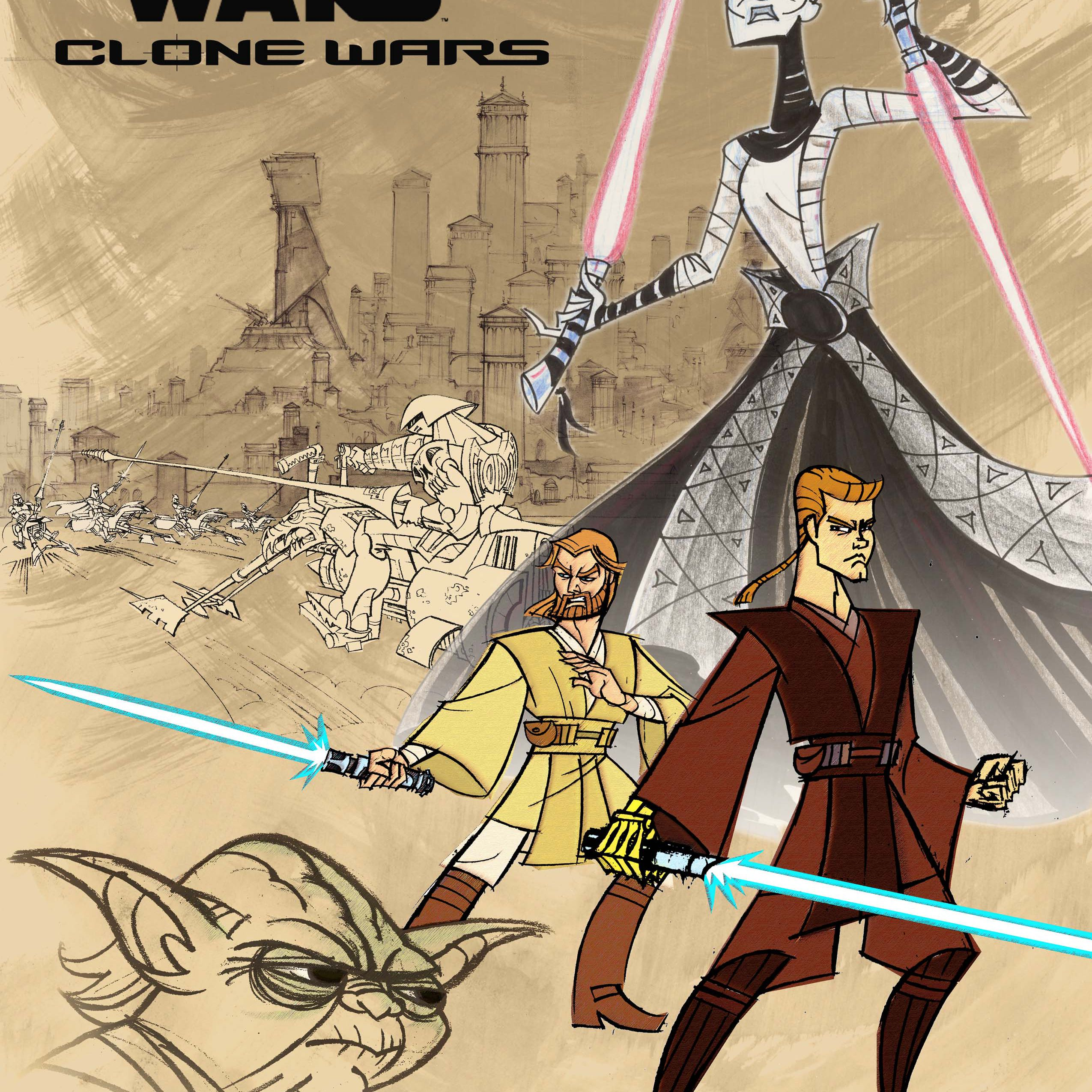 'Clone Wars' Poster