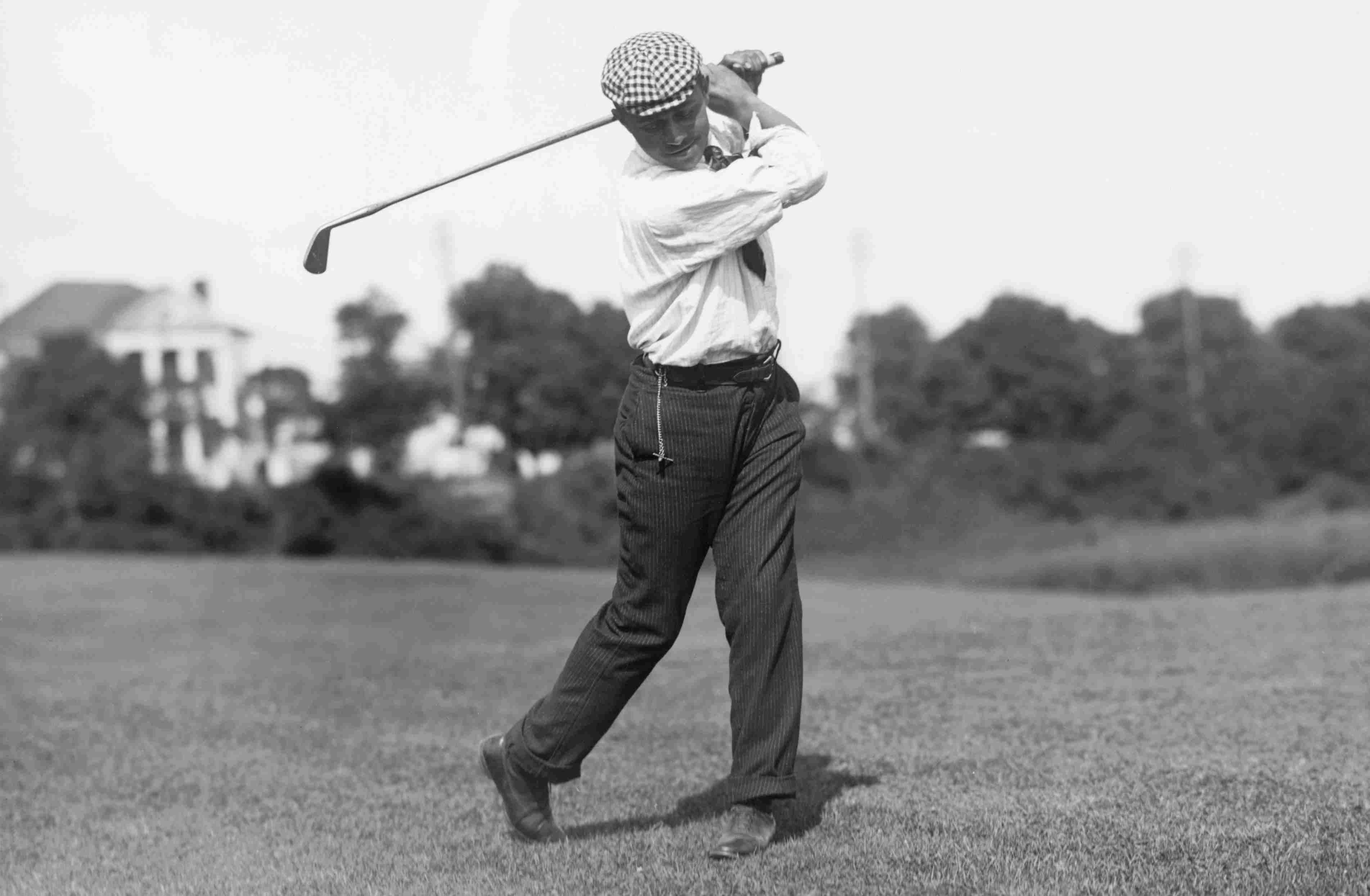 Golfer John Shippen circa 1913