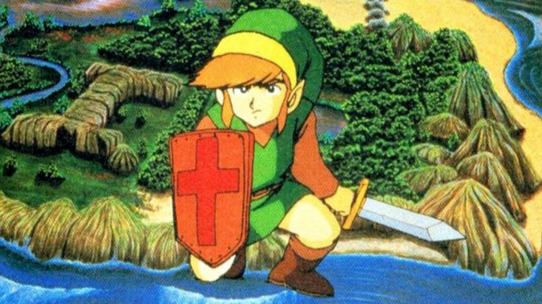 The Legend of Zelda video game on the Nintendo Switch