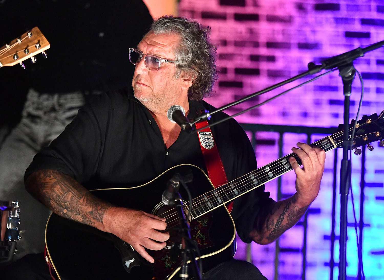 Rock and Roll Hall of Fame musician Steve Jones, founding member of Sex Pistols