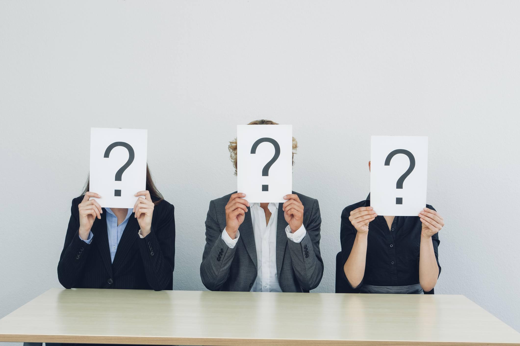 Ask Plenty of Questions