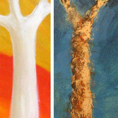Blended and Expressive Painting Styles