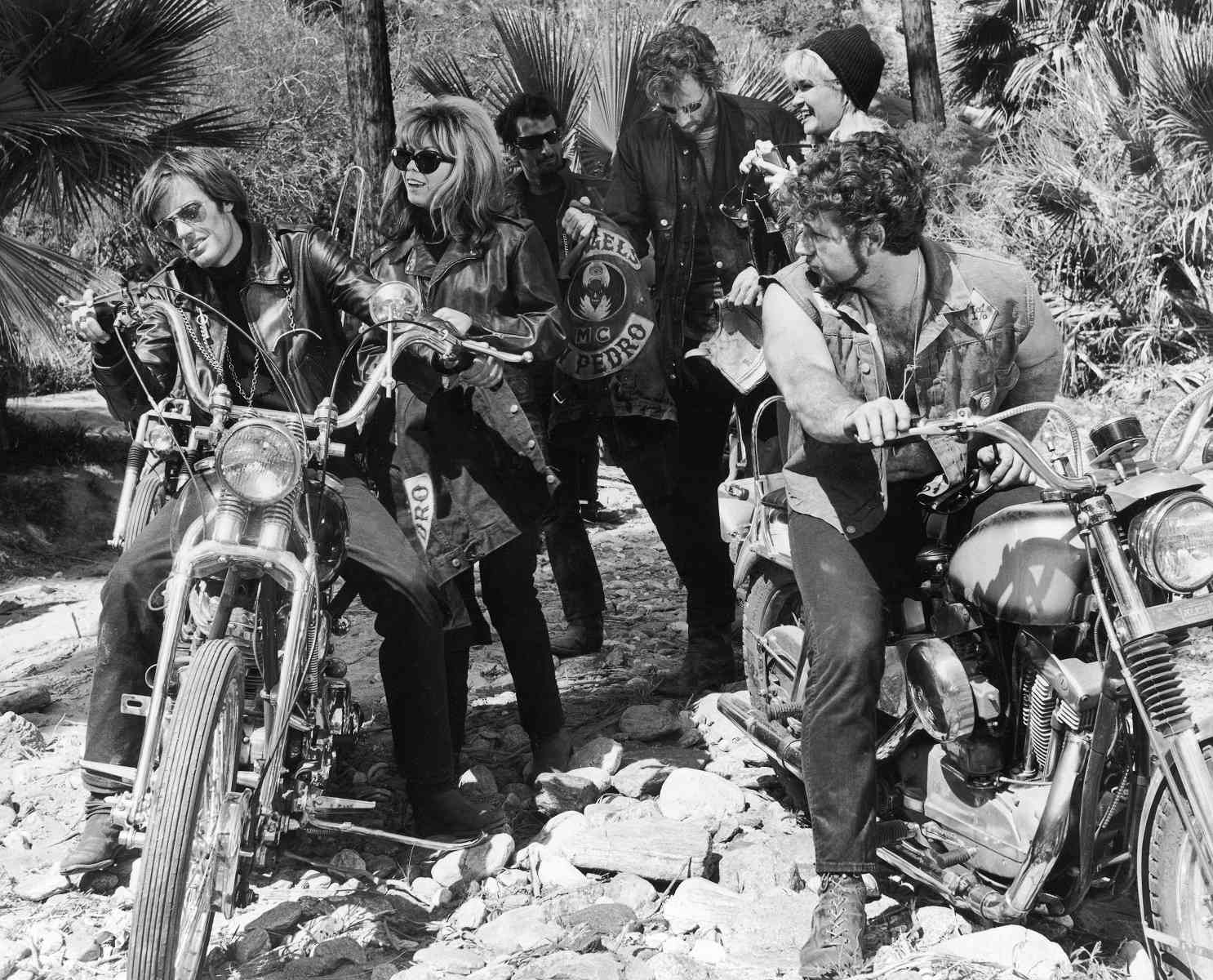 Peter Fonda and Nancy Sinatra in 'The Wild Angels' (1966)