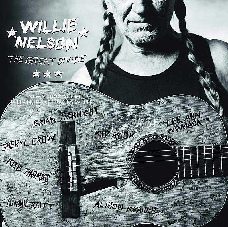 Willie Nelson The Great Divide album cover