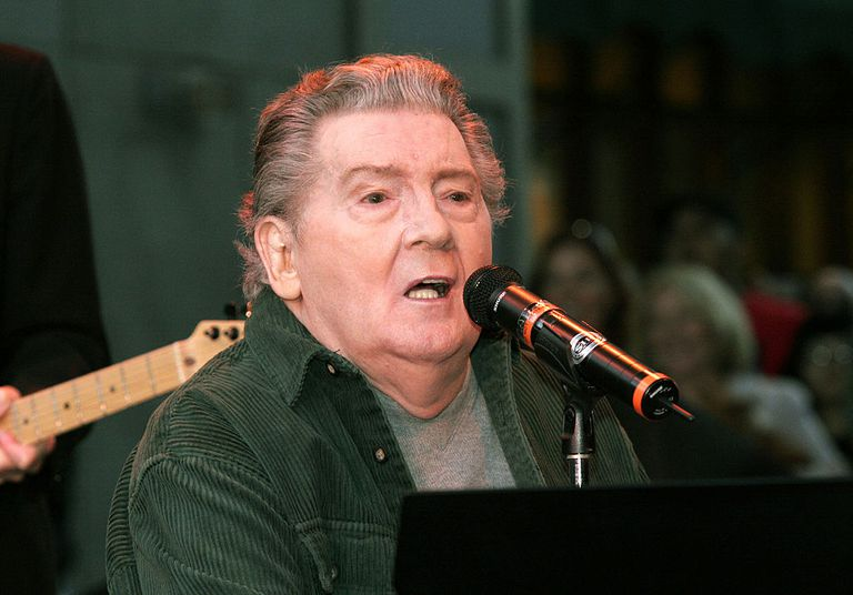 Jerry Lee Lewis performs