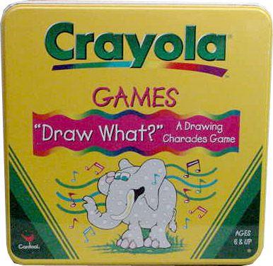 Crayola Charades Game