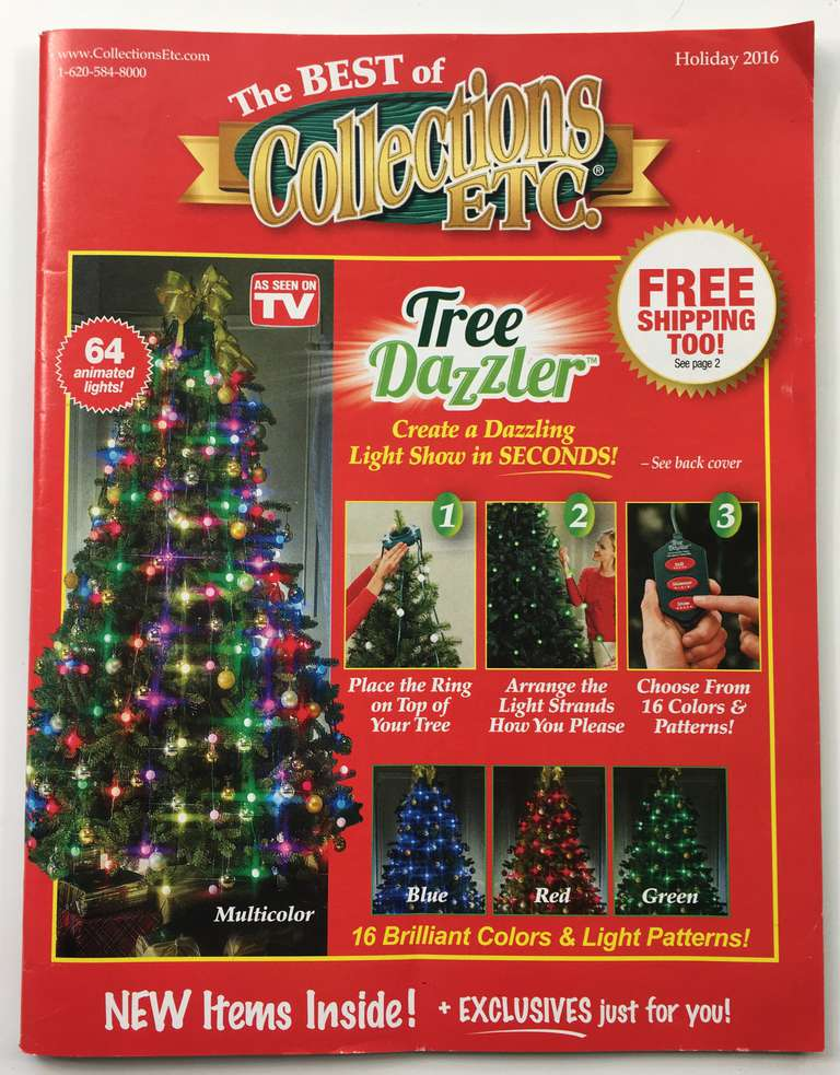 The Holiday 2016 Collections Etc. catalog