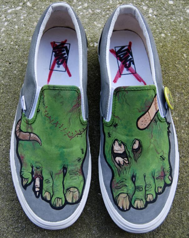 51bf7ca16b Zombie Vans by Mburk. CHOOSE YOUR SHOES is Michael Burk