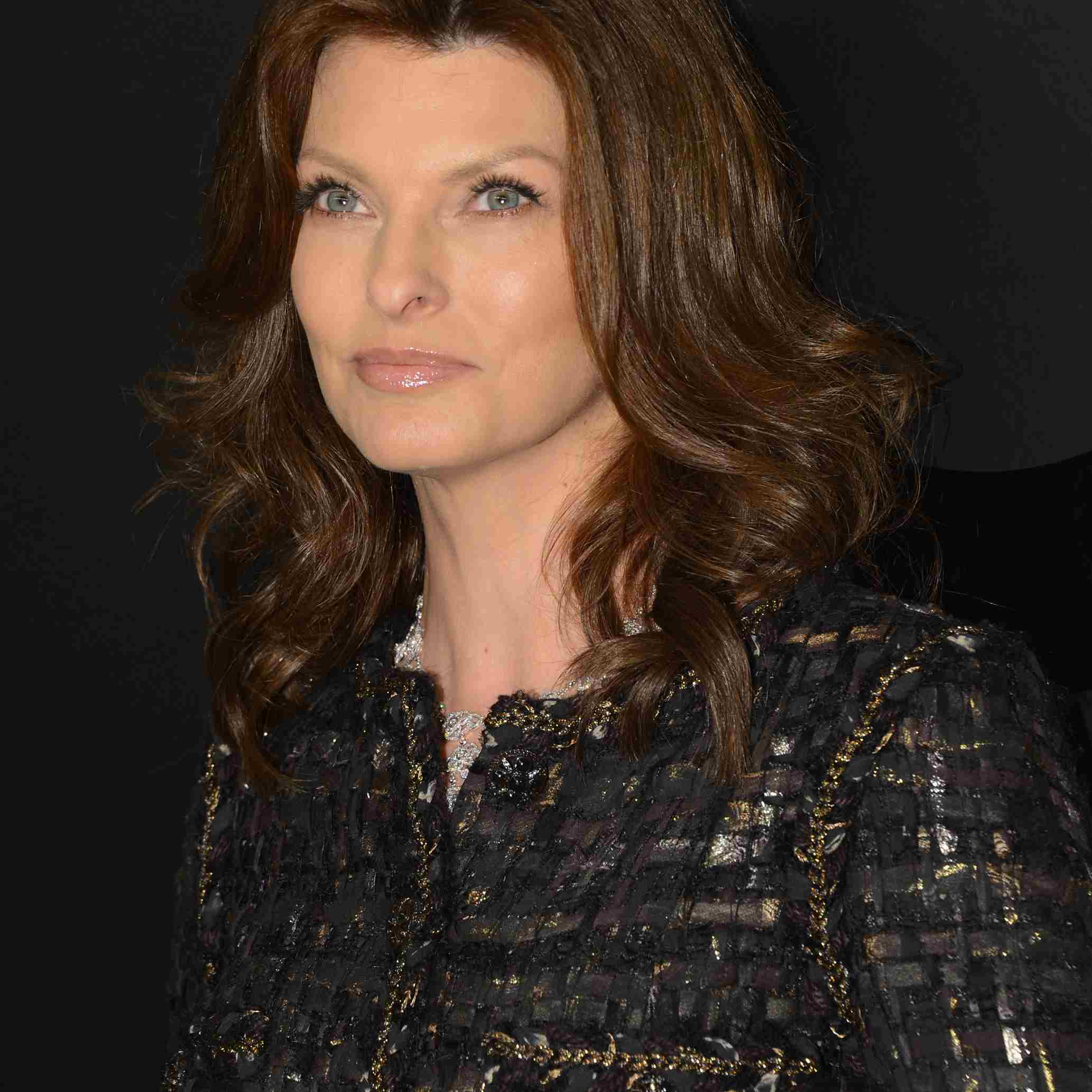 Linda Evangelista attends the celebration of CHANEL FINE JEWELRY'S 80th anniversary of the 'Bijoux De Diamants' collection created by Gabrielle Chanel on October 9, 2012 in New York City.