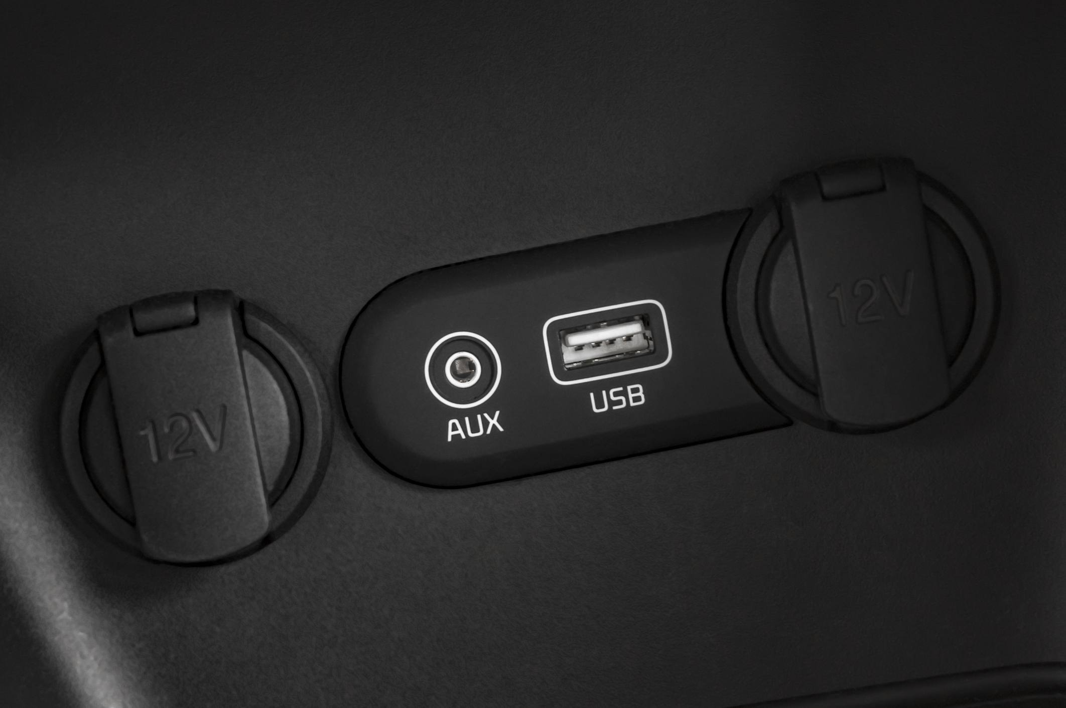 Power options in a car