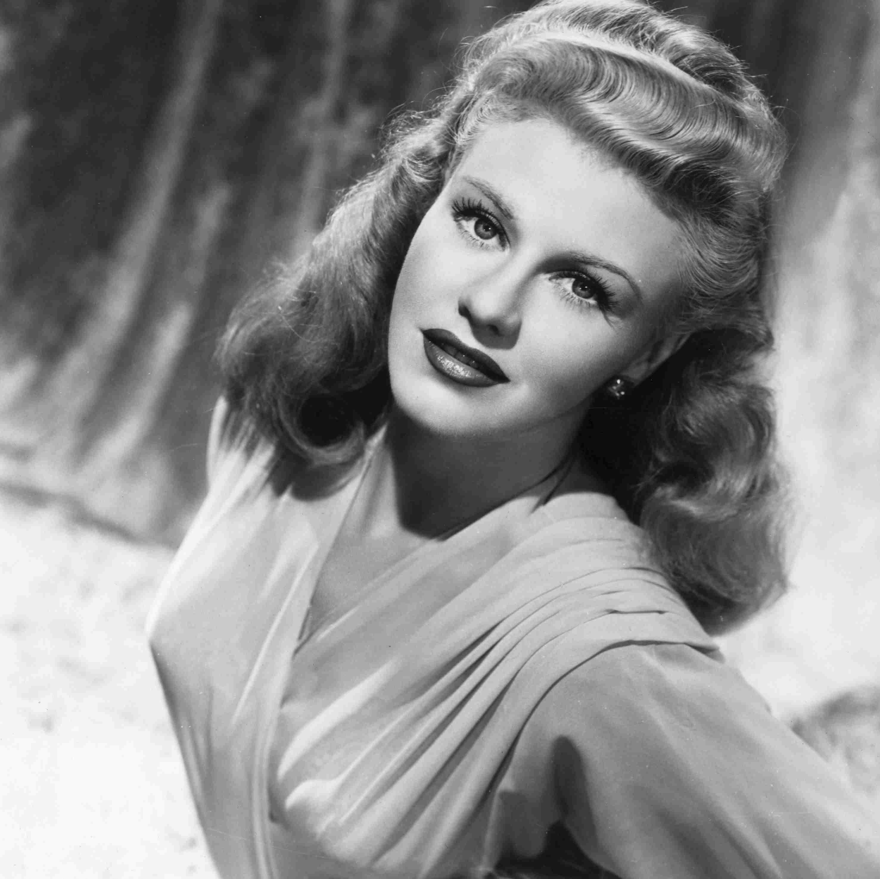 Famous dancer Ginger Rogers