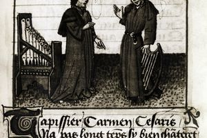 Illustration of the Famous Chorister Dufay of Cambrai