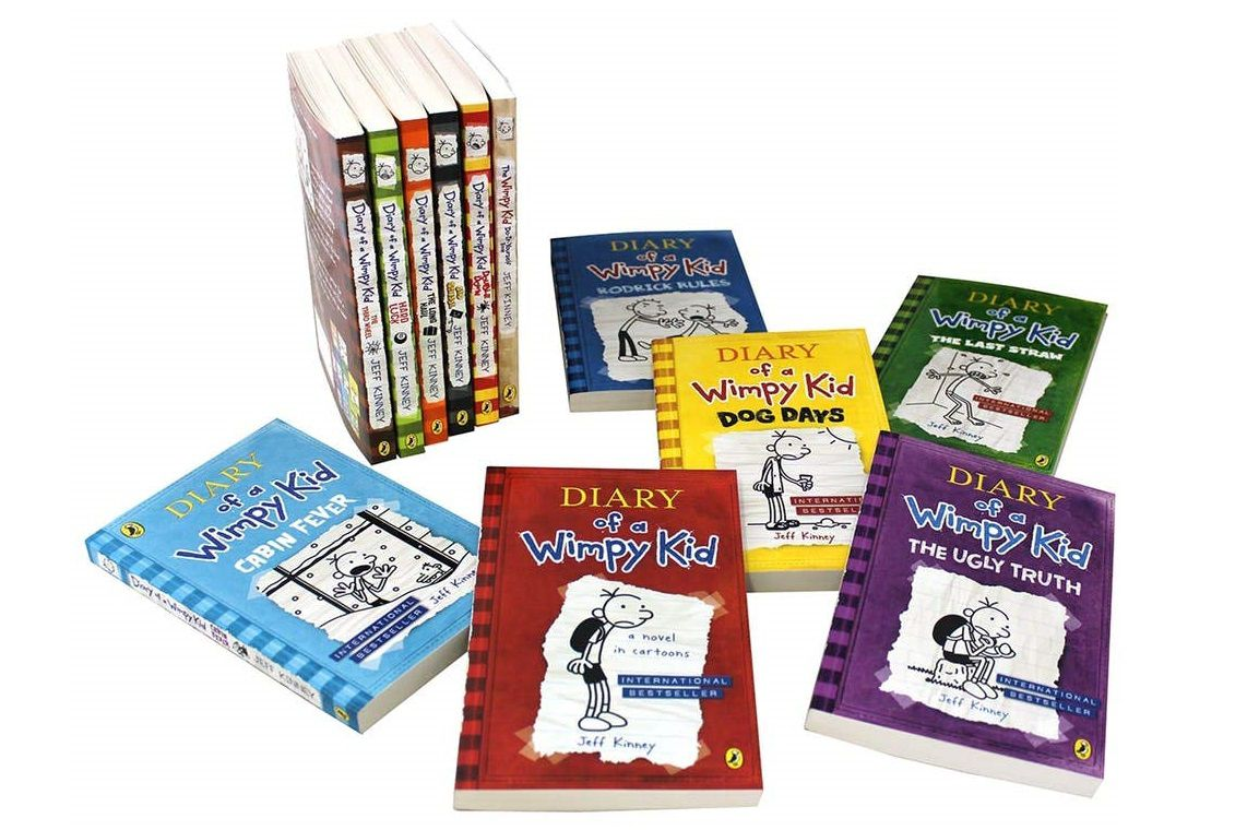 Get To Know The Diary Of A Wimpy Kid Books