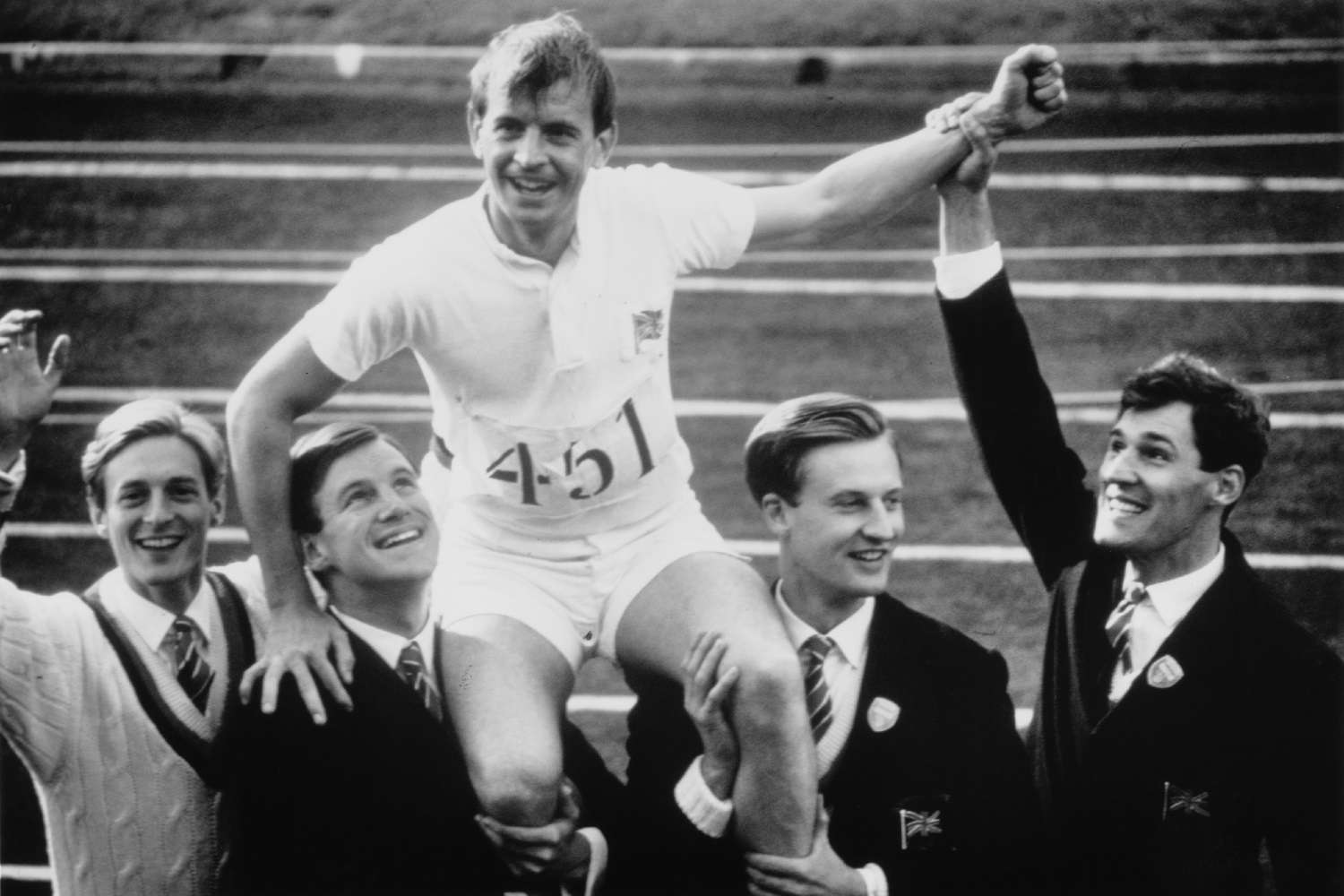 Actor Ian Charleson in the 1982 film Chariots of Fire