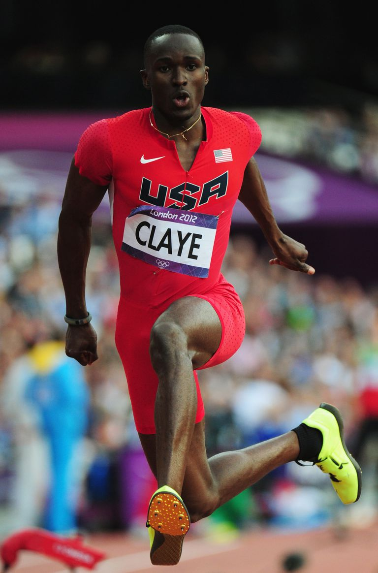 Will Claye competes at the 2012 Olympics