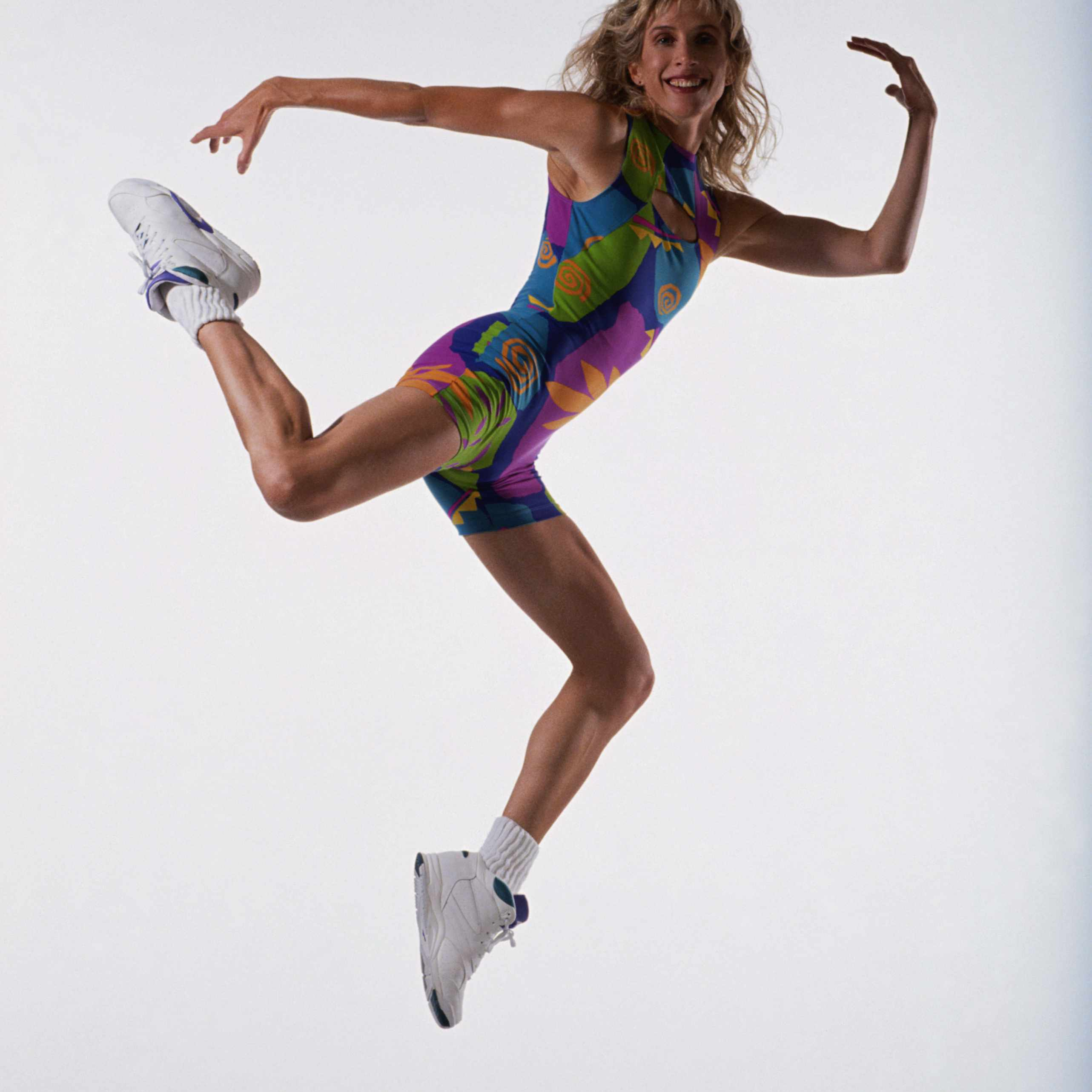 Aerobics in the air 1980s