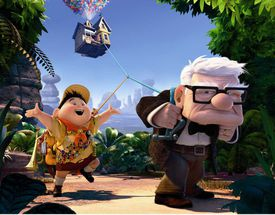 Still from Up with russell and carl