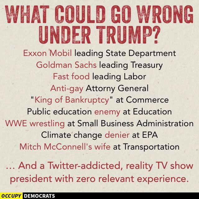 What could go wrong - Trump meme