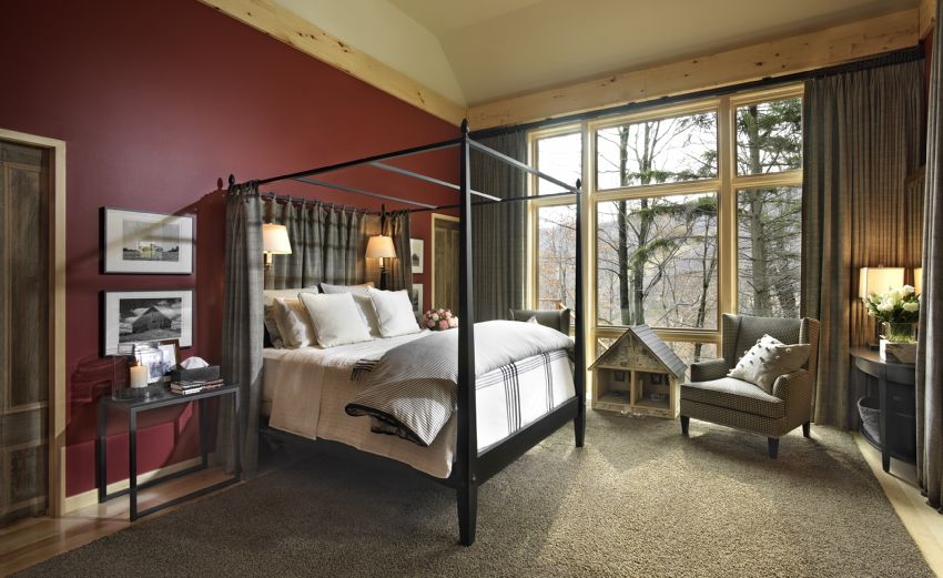 Photo of the 2011 HGTV Dream Home's Master Bedroom.