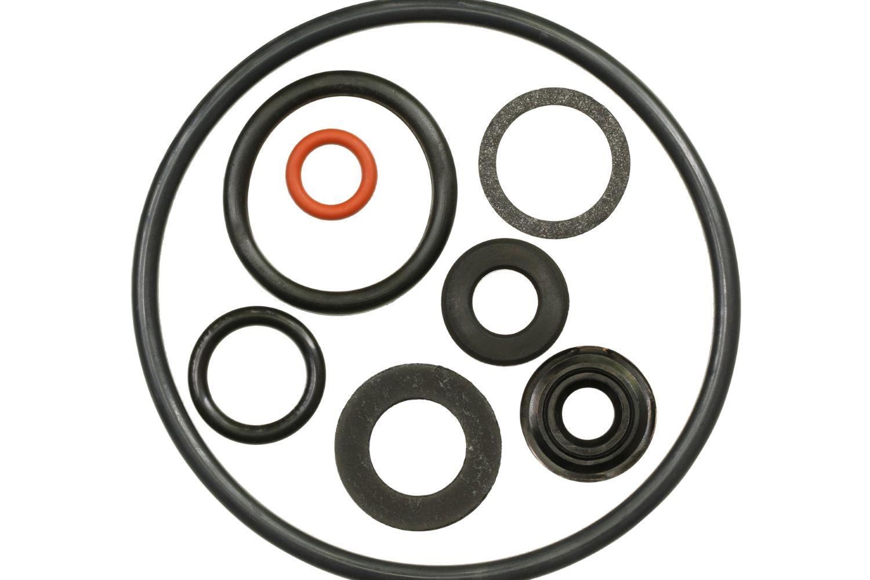 various o-rings and seals