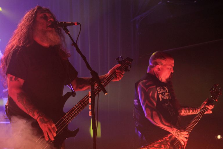 Slayer's Tom Araya and Kerry King