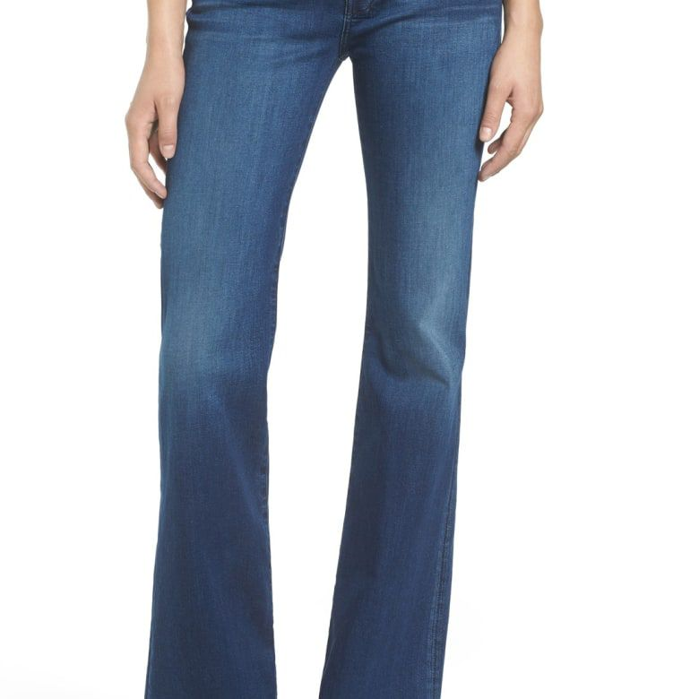7 For All Mankind Slim Illusion Dojo Flare Jeans