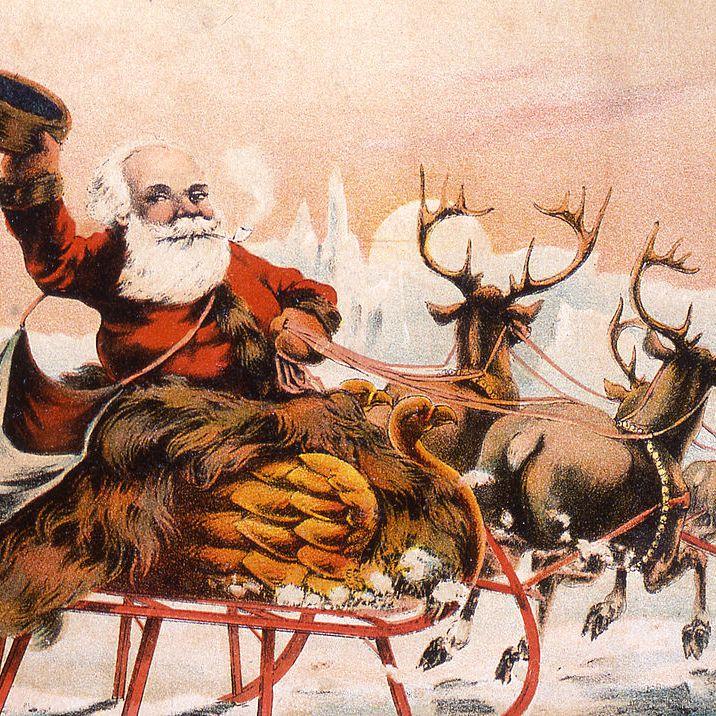 How Santa S Reindeer Got Their Names