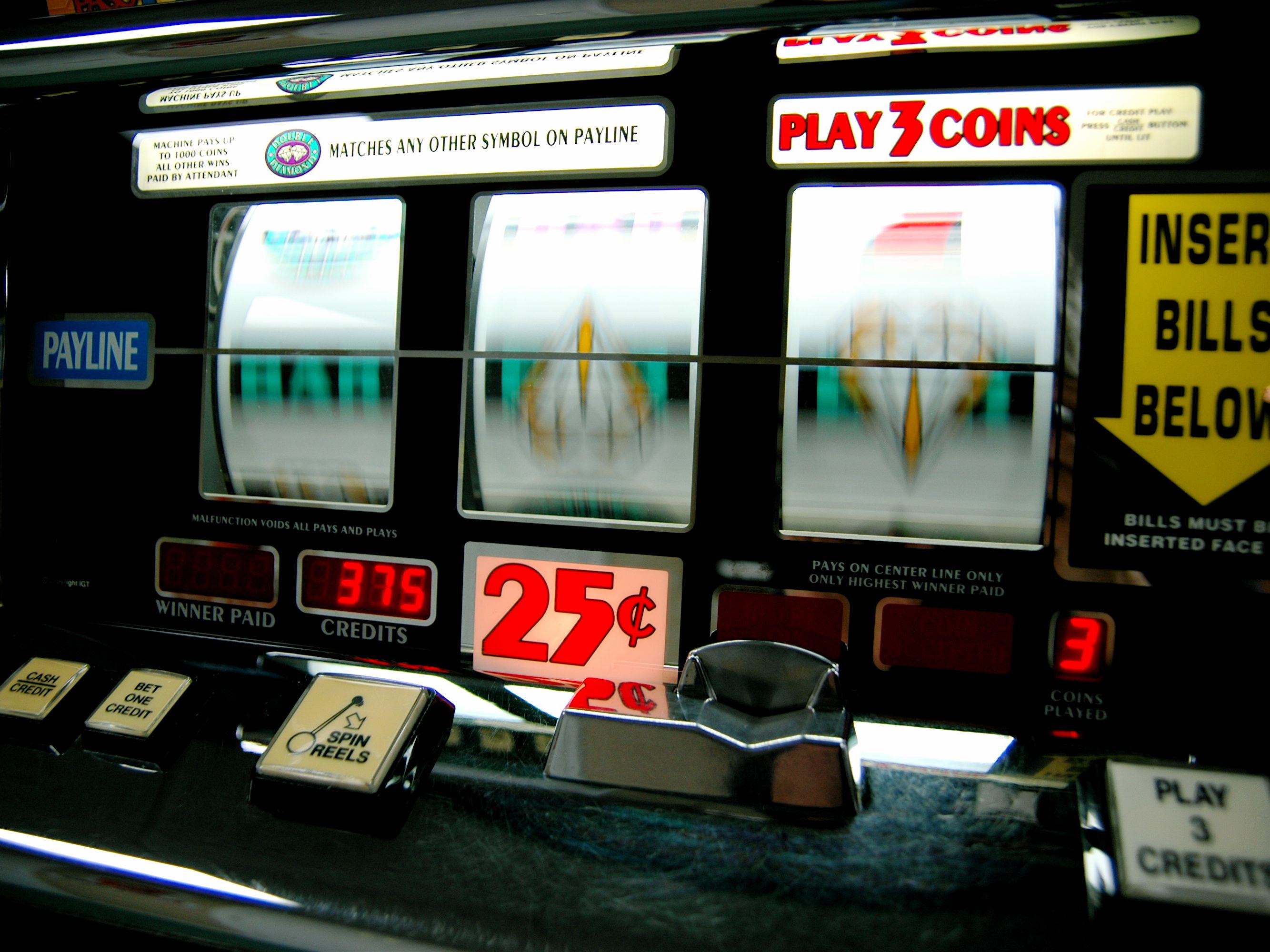 Numbers Of Slot Machines