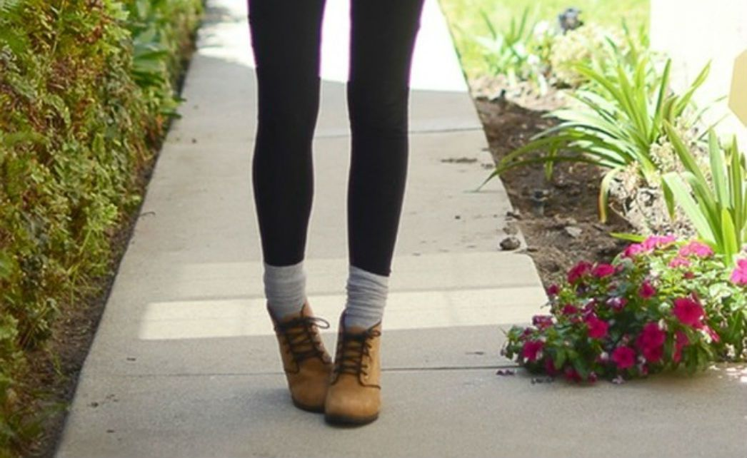 Skinny jeans ankle boots and socks