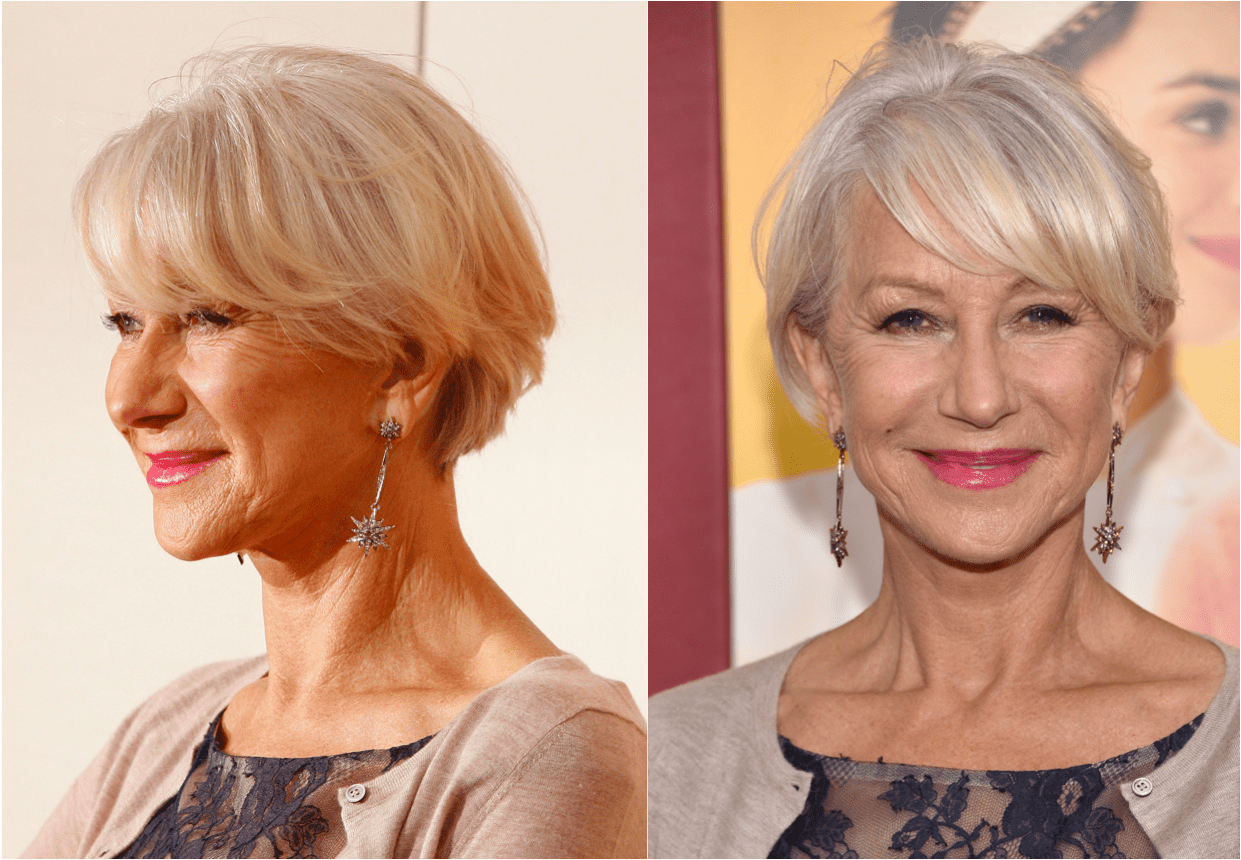 Heres A Plethora Of Haircuts That Look Great On Older Women