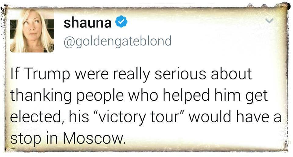Victory tour - Trump meme