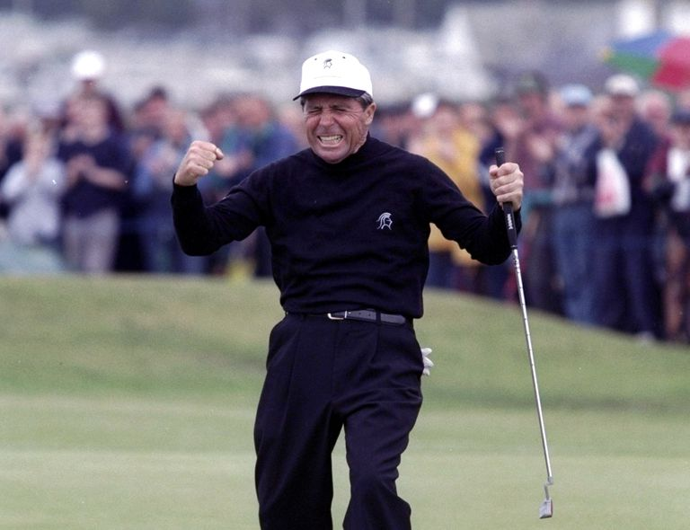 Gary Player at the 1997 Senior British Open