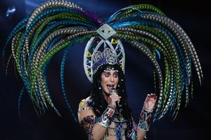 Cher In Concert With Cyndi Lauper 'Dressed 2 Kill' Tour - Los Angeles, CA