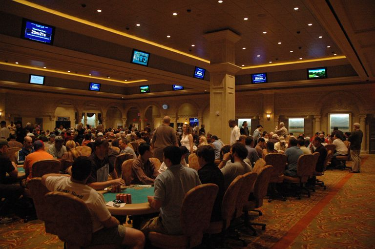 Borgata poker room