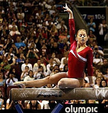 Shawn Johnson Gymnastics Photo