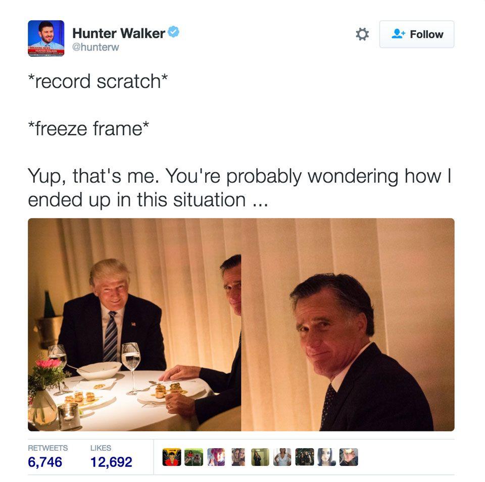 Romney - Trump meme