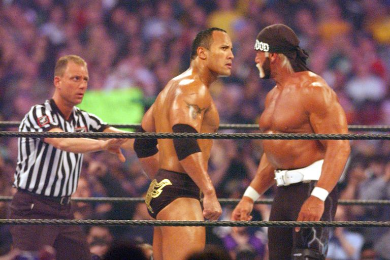 The Rock Vs. Hulk Hogan