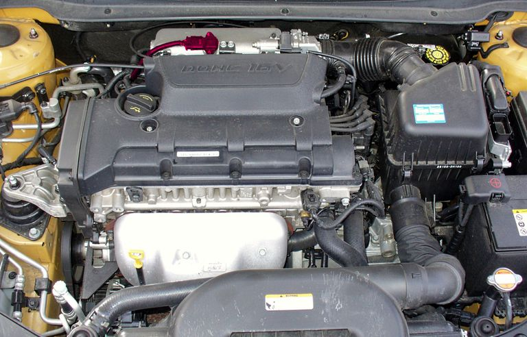 car engine with map sensor
