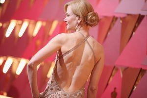 Nicole Kidman gown on the red carpet Oscars 2017