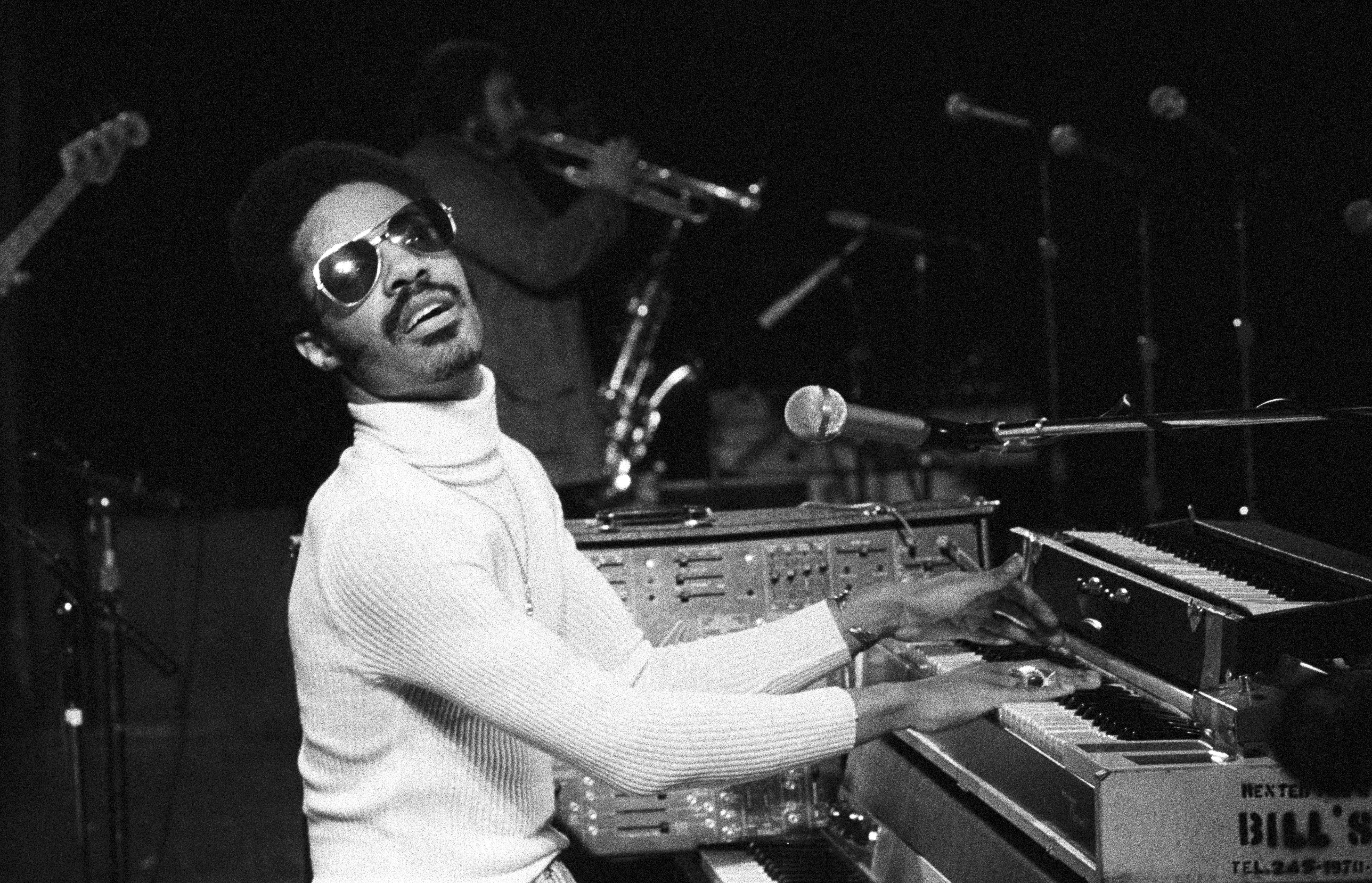 Stevie Wonder At Madison Square Garden
