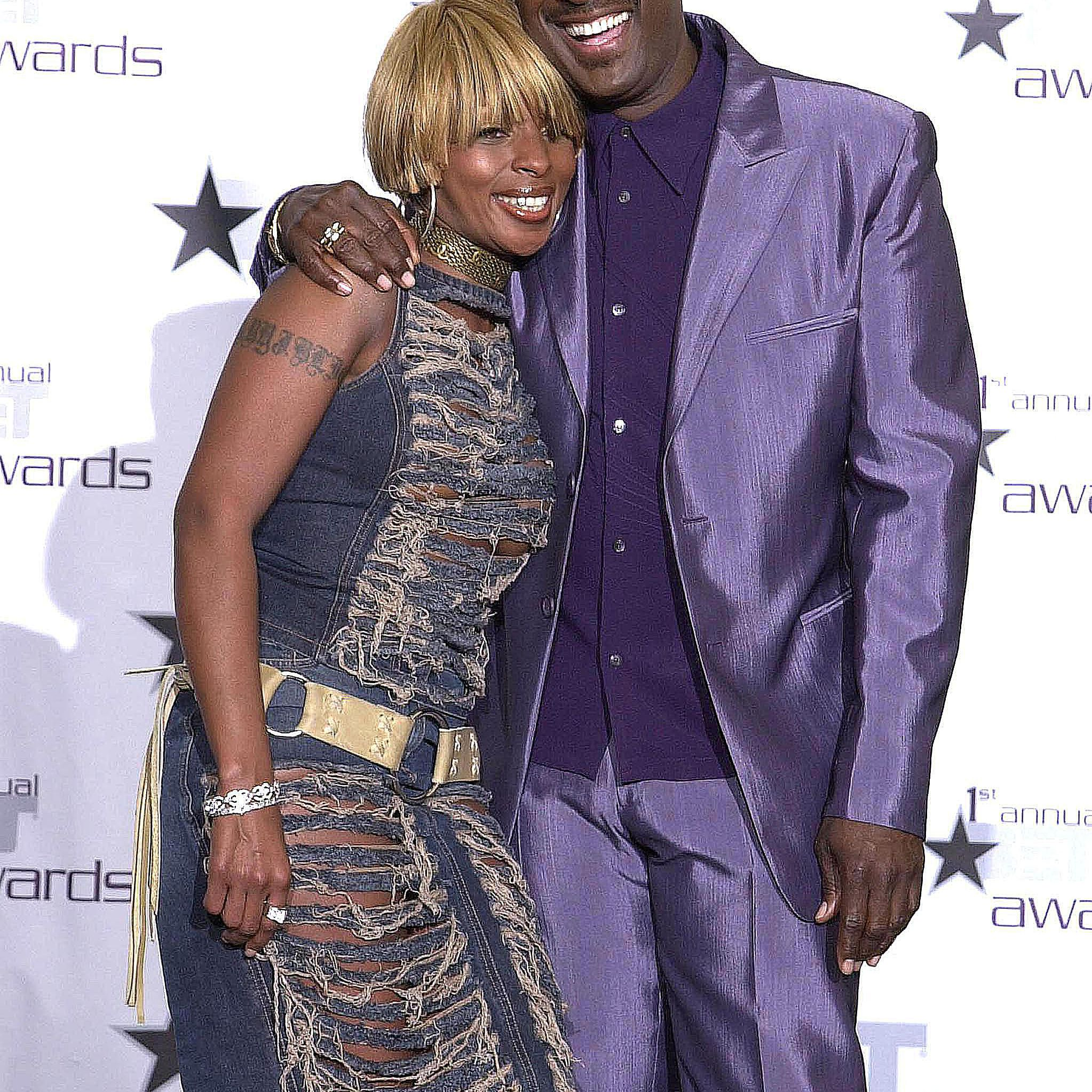 Mary J. Blige and Luther Vandross