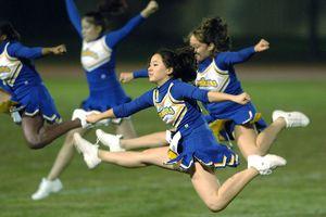 Yokota High School Cheerleaders - Yokota Air Base, Japan